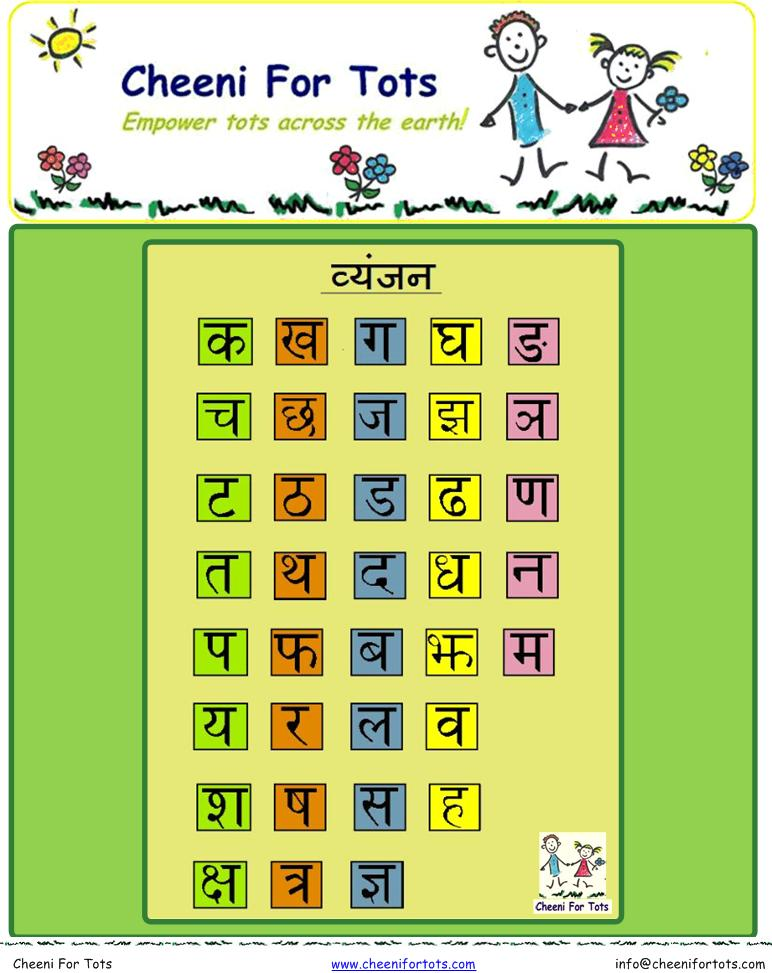 Printable Worksheets hindi learning worksheets : Enjoy Learning Hindi Alphabets With Cheeni For Tots!